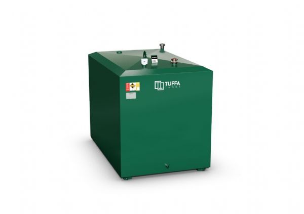 1800  Litre Steel Oil Tank - Steel Bunded